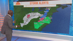 Storm expected to bring snow to the East Coast