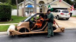 Fred Flintstone look-alike 'arrested' in Florida