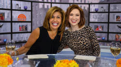 Hoda and Ellie Kemper talk about styling their kids' hair