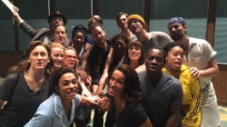 Sara Bareilles and the cast of 'Waitress' celebrate Al Roker