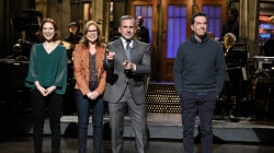 Steve Carell hosts a surprise mini 'Office' reunion on 'SNL'