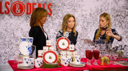 Jill's Steals and Deals for entertaining: Fine china, flatware, candles, more