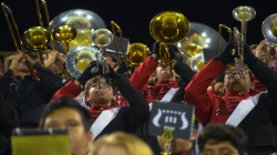 Meet the marching band that takes football games very seriously