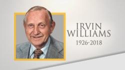 Longest-serving White House head gardener Irvin Williams dies at 92