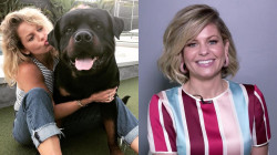 'Fuller House' star Candace Cameron Bure calls her giant dog 'a small bear'