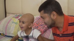 Father needs rare blood type donors to fight daughter's neuroblastoma