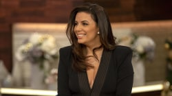 Eva Longoria talks about giving back and new son Santiago