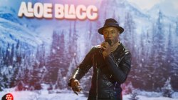 Watch Aloe Blacc perform 'The Mrs Saved Christmas'