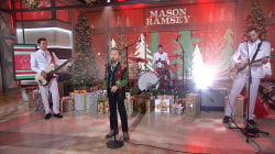 Watch Mason Ramsey sing 'White Christmas' live on TODAY