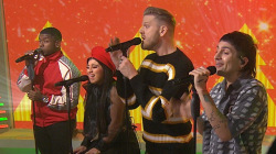 Pentatonix performs song from their new Christmas album