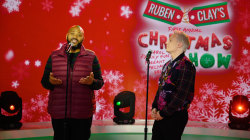 Clay Aiken and Ruben Studdard sing 'Don't Save It All for Christmas Day'