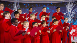 Watch St. Thomas Choir sing 'We Wish You a Merry Christmas' on TODAY