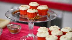 Make Elizabeth Chambers Hammer's tasty eggnog cupcakes
