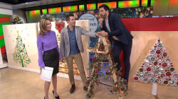 The Scott brothers share easy DIY projects for holiday decoration