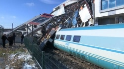 High-speed train crash in Turkey leaves at least 9 dead