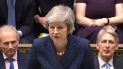 Prime Minister Theresa May facing no-confidence vote