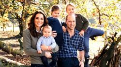 Royal family releases 2018 Christmas card photos