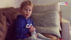 Dylan's son, Calvin, would rather watch Elmo than mom on TV