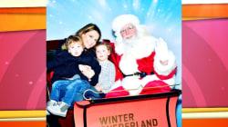 Savannah Guthrie and Dylan Dreyer take their kids to meet Santa