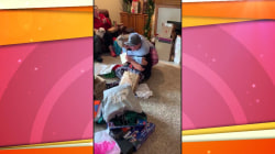 Boy finds out he's going to be adopted in moving Christmas gift