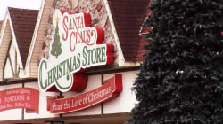 In Santa Claus, Indiana, the holiday spirit's alive year-round