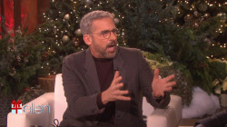 Steve Carell tells Ellen about when a fan hit him with her car