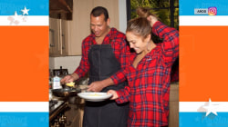 How J.Lo and A-Rod, the Kardashians and more celebrated Christmas