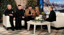 Ellen surprises couple who lost engagement ring in NYC