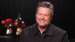 Blake Shelton dishes on Hallmark movie and holiday memories