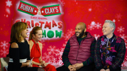 Clay Aiken and Ruben Studdard on reuniting for 'Christmas Show'