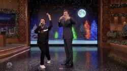 Lin-Manuel Miranda and Jimmy Fallon put a holiday spin on pop songs