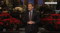 Matt Damon appears in hilarious 'SNL' skit about holiday stress