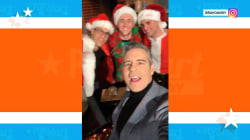 Andy Cohen joins 'SantaCon' with neighbors in funny video