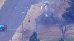 Video shows wild police chase ending in car crash