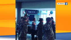 Airport honors kids who lost military parents, and more Highs and Lows