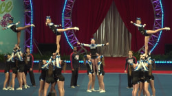 Teen cheerleader with Down syndrome joins champion squad