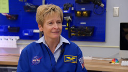 Legendary astronaut Peggy Whitson inspires the next generation of space explorers