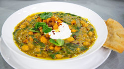 Make Alison Roman's spiced chickpea stew