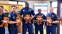 Barran's Bears: How police are spreading cheer to kids