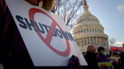 No sign of progress as shutdown enters 2nd month