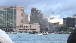Old Jacksonville City Hall implodes in seconds