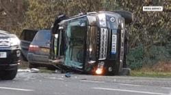 Witness describes Prince Philip's frightening car wreck