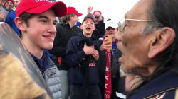 Student in controversial taunting video speaks out