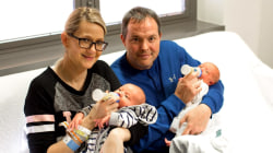 Couple opens up about welcoming 2 babies just 3 weeks apart