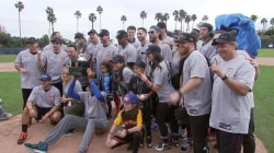 California Strong: Celebs play softball for great causes