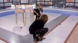 Hoda and Jenna play with Yellies, the toy that feeds off yelling