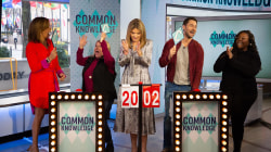 Joey Fatone hosts a game of 'Common Knowledge' with TODAY fans