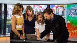Harry Connick Jr. teaches the team to play piano with new tech