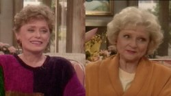 'Golden Girls' stars Betty White and Rue McClanahan talk aging in 1991