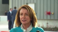 Pelosi on Trump's National Emergency: There isn't going to be a wall
